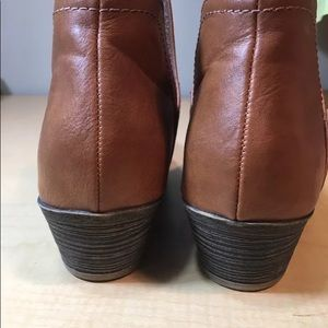 5cdd16dd7e562 Faded Glory Shoes - Cut out low ankle faux leather booties boots shoes